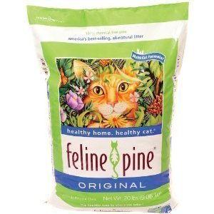 Feline Pine  Original Cat Litter, 100% Chemical Free