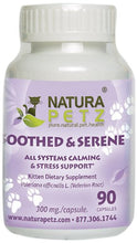 Soothed and Serene for Pets by Natura Petz, Veterinarian Recommended