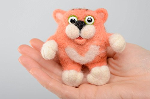 Felted Wool Cat Toy