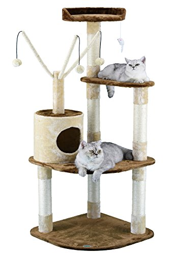 Go Pet Club Cat Climber Tree Covered by Sisal Rope