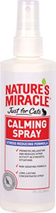 Nature's Miracle Just for Cats Calming Spray, Quick Results Formula