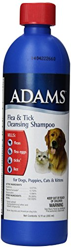 Flea and Tick Cleansing Shampoo by Adams, Kills Fleas, Ticks' and Lice