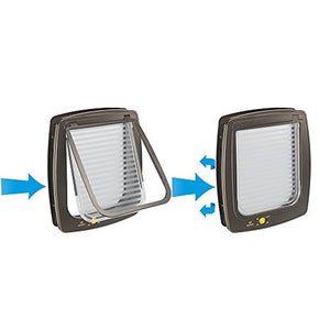 Ferplast Cat Flap with Wind-Stopper System