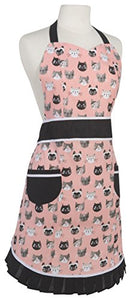Vintage-Inspired Cats Meow Betty Apron by Now Designs