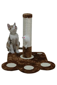 Go Pet Club Cat Footprint Shape Scratching Post