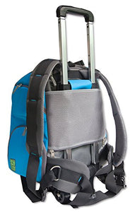 2-in-1 Sporty Wheeled Pet Backpack and Carrier