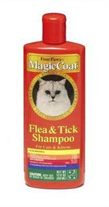 Magic Coat Cat Grooming Shampoo by Four Paws, Kills Fleas, Ticks