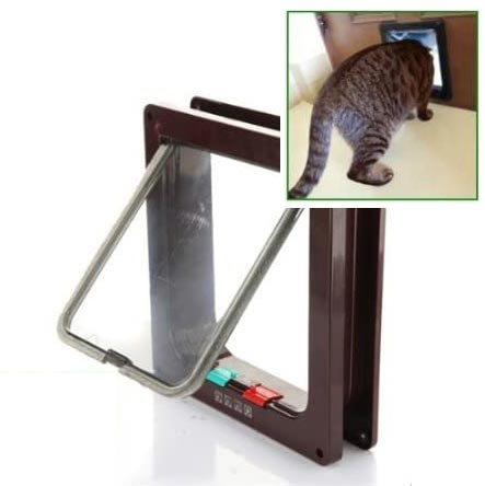 Patty Both Cat Flap with Telescoping Frame