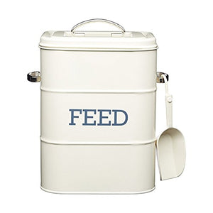 Pet Feed Storage Tin - 3kg - comes with 70g scoop