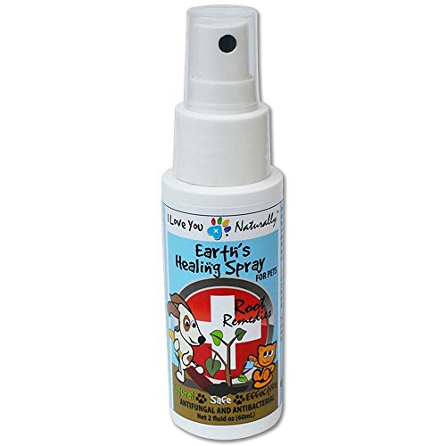 Anti-Fungal Antimicrobial Earth's Healing Spray for Cats&Dogs