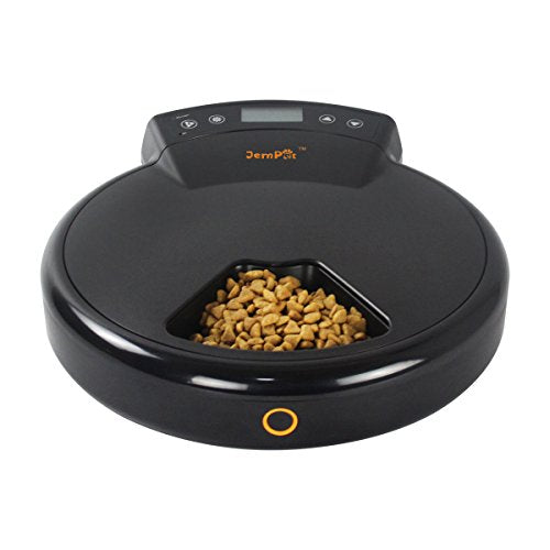 Programmable Pet Feeder with Timer & Voice Recording Function