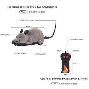 Remote-Controlled Mice Prank for Cats, 215g
