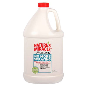 Nature's Miracle, Stain&Odor Remover, Just for Cats, 1 gal