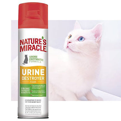 Nature's Miracle Nm Cat Urine Destroyer Foam