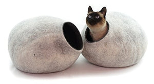 Snow White Sheep Wool Cat Cave