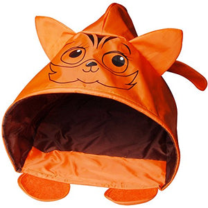 Orange Interactive Cat Sleeping House/Bed