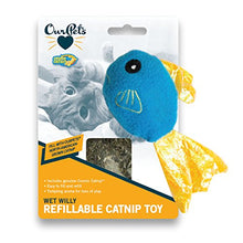 Cosmic Catnip Filled Fish Cat Toy
