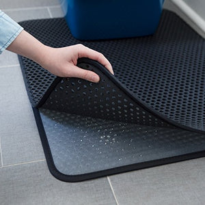"Large Cat Litter Trapper Mat by iPrimio, 30""x23"" in"