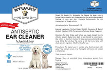 Antiseptic Ear Cleaner for Dogs and Cats with Ketoconazole 0.1%