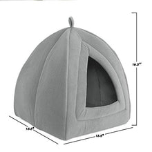 Grey Cushion Cat Igloo