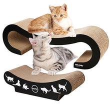 Cat Cardboard Scratcher with Stylish Cat Patterns