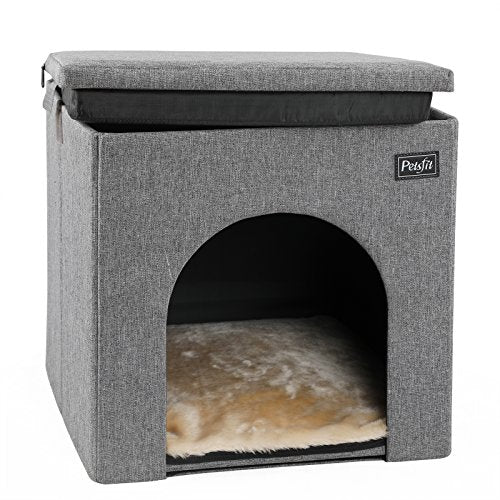 Collapsible and Washable Cat house