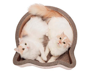Large Cat-headed Scratcher Bed