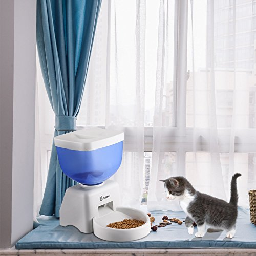 Automatic Pet Food Dispenser, Smart Timer and Voice Recorder