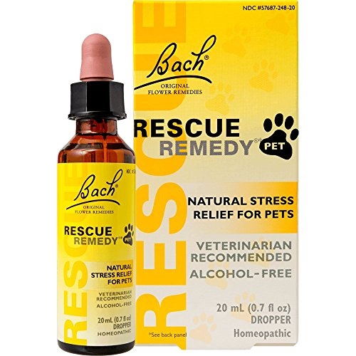 Rescue Remedy by Bach, Natural Stress Relief for Pets