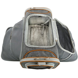 Two Sided Expandable Pet Carrier by Mr. Peanut's