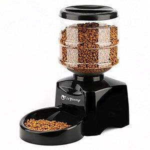 Automatic Pet Feeder with LCD Screen