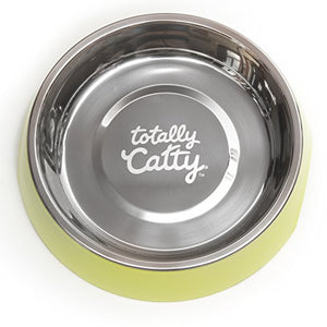 Totally Catty Non-slip Stainless Steel Single Diner