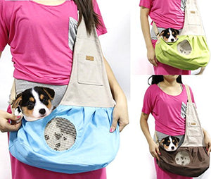 Breathable Cat Puppy Sling Carrier