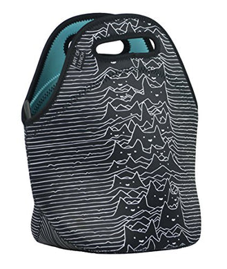 Practical, Stylish and Large Capacity Hand Bag, Joy Division Cats Design