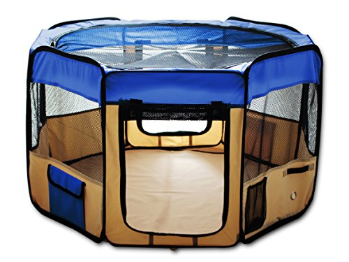 Cat Exercise Playpen Kennel