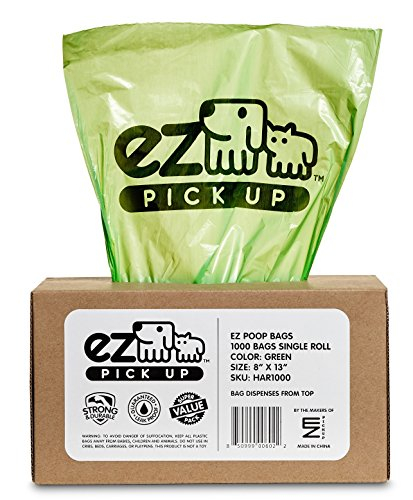 Pickup Extra Long Green Waste Disposal Bags,