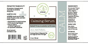 Calming Serum for Pets | Relief from Anxiety, Stress by Vetenza