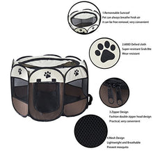 Pet Portable Foldable Playpen