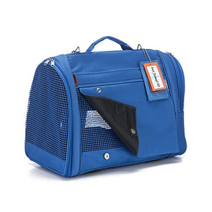 Blue Backpack for Pets
