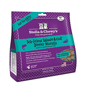 Sealicious Salmon & Cod Dinner Morsels Cat Food by Stella & Chewy's