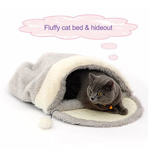 Cushion Sleeping Cave Bed for Cats
