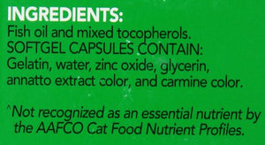 Welactin Feline Soft Gel Omega 3 Supplements by Nutramax
