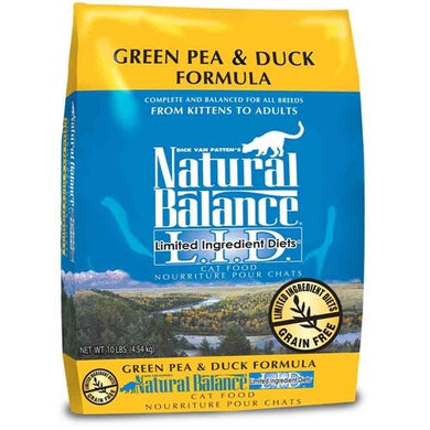 Natural Balance L.I.D. Limited Ingredient Diets Dry Cat Food, 10-Pound