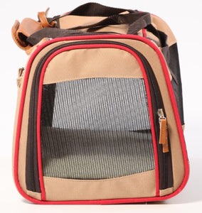 Sherpa Element Pet Carrier with Three Mesh Windows