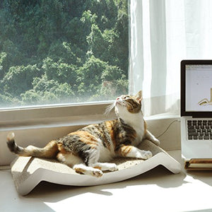 "Cat Scratcher Lounger, 10"" Surface"