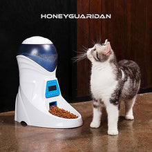 Automatic Cat Feeder Food Dispenser, 1/32 cup to 4 cups