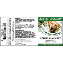 Stress & Anxiety Homeopathic Remedy by Only Natural Pet, 30 ML