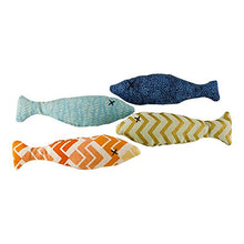 Sardine Catnip Patterns Vary Cat Toys