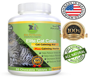Elite Cat Calm Calming Aid Plus Calming Herbs