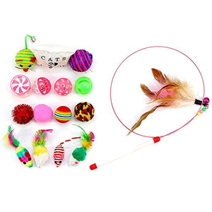 Interactive Bells Funny Cat Toys Sets